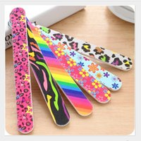 Wholesale Board Prices - OT-30 Cheap price many color nail file emery board nail art file cosmetic makeup tools 17.8*1.9cm free shipping!