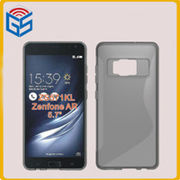 Wholesale asus cell phones resale online - New Hot Soft Gel S Line TPU Cell Phone Case Cover For Asus Zenfone AR ZS571KL