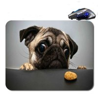 Animal Pug Dog New Arrival Frete Grátis Top Sellig High Quality Custom Print Moda Durable Notebook Gaming Rubber Mouse Pad