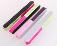 Wholesale professional callus removers tools resale online - Professional Grit Sanding Nail Files Buffering Polishing Nail Art Tool Manicure Pedicure Thick Cuticle Callus Remover Sandpaper