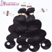 Wholesale Bodywave Hair Weave - BodyWave Human Hair Brazilian 4Pcs Lot Body Wave Human Hair Extension Unprocessed Body Wave Brazilian Human Hair Weave Bundles