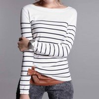 Wholesale Cashmere Sweaters Women S Clothing - Wholesale-LOWEST PRICE Hot Sales Women's Knitted Cashmere Sweater Stripe Woman Winter Clothes Pullover High Quality Free Shipping
