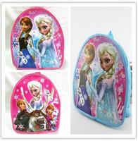 Wholesale Cheap School Girl Free Shipping - Wholesale Frozen Spiderman Kid's School Bags Backpack Little Boys Girls School Bags Cartoon Small Mini Backpack Cheap free shipping