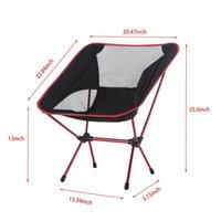 Wholesale Bear Stool - Super-light Breathable Backrest Folding Chair Portable Beach Sunbath Picnic Barbecue Camping Fishing Stool Load Bearing 150 kg