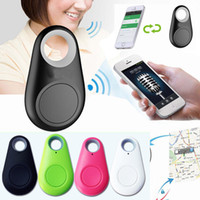 Wholesale remote alarms wireless - Smart finder Key Remote Shutter Wireless Bluetooth Tracker Anti lost alarm Smart Tag Child Bag Pet GPS Locator itag for Android iOS DHL free