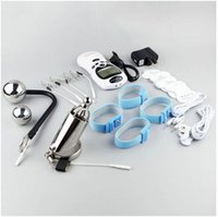 Electro Kit Edelstahl Penis Urethral Sounding Plug Elektroschock Cock Ring Ball Stretcher BDSM Sex Toys