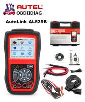 Wholesale Auto Electrical Tools - Autel AutoLink AL539b OBD 2 Code Reader Electrical Test OBD2 Scan Tool Auto Scanner Automotive Escaner Automotivo Automotriz