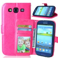 Wholesale Galaxy S Duos Flip - Flip Case For Samsung Galaxy S 3 iii S3 Siii Neo i9300 i 9300 i9301 Duos i9300i GT-i9300 GT-i9301 GT-i9300i i9305 GT-i9305 Cover