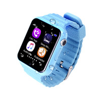 Wholesale Good Messaging Phones - V7K Smart Watch with GPS camera tracker for kid safe SOS Call Location Devicer phone watch can record sport state it is good for health