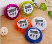 Wholesale Free Digital Timer - novelty digital kitchen timer Kitchen helper Mini Digital LCD Kitchen Count Down Clip Timer Alarm with DHL free