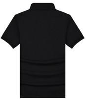 Wholesale Summer Slim Polo Shirt - Wholesale Free shipping high quality Fashion 100% cotton casual Polo Shirts England B Brand Brit Summer Casual Men Short sleeve Slim shirts