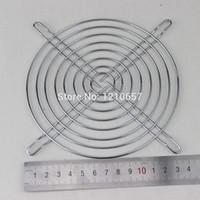Wholesale Mesh Grilles Wholesale - Wholesale- 2Pieces LOT Fan Protection Net Grille 14CM 140mm Fan Iron Mesh Computer Case Fan Safety Net