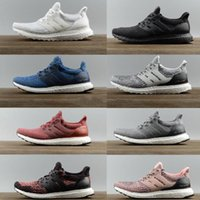 Wholesale New Ultraboost Running Shoes Men Women High Quality Ultra Boost III Primeknit Runs White Black Athletic Shoes Size