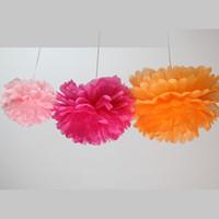 ingrosso giardinaggio peonies-Sfera del fiore della peonia 4 ~ 14 pollici (10 ~ 35CM) Le nozze decorano il fiore artificiale del fiore per il mercato del giardino di nozze Decorazione domestica