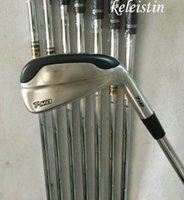 eisen golf mb großhandel-Freeshipping 2017 marke NEUE Golf Irons Clubs T-MB 718 Golf Forged Eisen Mit Stahlschaft und headcover 718 T-MB golf iron sets