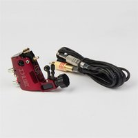 Wholesale Stigma Hyper Rotary - Wholesale- Tattoo Rotary Machine 1pcs Aluminum Alloy Stigma V3 Hyper Bizarre Rotary Tattoo Machines + 1pcs RCA Clipcord For Tattoo Supply