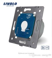 Livolo Standard UE, 1Gang 2 Way, Touch Remote Switch senza pannello di vetro, 110v ~ 250V + Indicatore LED, VL-C701SR