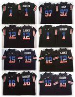 Wholesale flag football jerseys - Ohio State Buckeyes Black 15 Elliott #97 Joey Bosa #12 C.JONES #16 BARRETT #1 B.Miller College Football Jersey Men Flag Jerseys