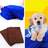 Wholesale free chemicals online - Cleaning Cloths Pet Blanket Hypoallergenic Chemical Free Dog Cleaning And Grooming Cloth Fashion Pet Bath Towels Pet Supplies IC794