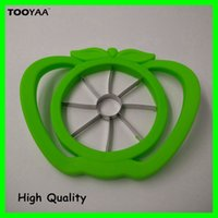Wholesale Plastic Cutting Knife - Apple Cutter Slicer Apple Knife Corer Kitchen Tool Accessories apple Cutting Server Scoop Fruit Vegetable Tools