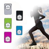 Wholesale Sd Card Compact - 2017 High quality Metal Portable USB MP3 Player Support 32GB Micro SD TF Card Music Media Slick stylish design Sport Compact