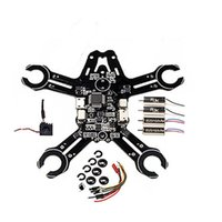 Compra Micro Voli-Kit Micro Frame AIO in stile Deadcat da 95 mm integrato in valvole complete di DIY F3 EVO Flight Controller con DSM-2 Radio DSM-X Receiver