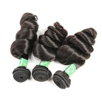 Unprocessed Raw Temple Indian Virgin Human 3 Hair Bundles With 13x4 Lace Frontal Closure Loose Wave 1B Color Dyeable Новое прибытие Queenlike