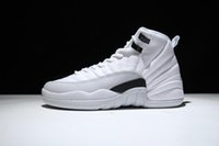 Wholesale Green Suede Boots Women - Air Retro 12 Basketball Shoes 12s Master OVO white Black Barons Psny Suede Gold Wings Cherry taxi playoffs French blue Gym red Wool Sneakers