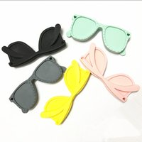 Wholesale new of Silicone sunglasses teether new silicone teether hot sell silicone teether
