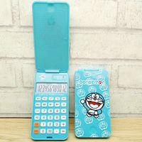Wholesale general calculator resale online - Doraemon apple jingle cats small box folding calculator DD c with convenient