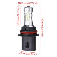 Hot Sale Super Bright White 9007 HB1 21 LED 2835 SMD Car Auto Fog DRL Light Light Head Lamp Bulb DC12-24V