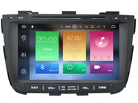 Wholesale Dvd Gps Kia Sorento - Navirider 2GB ram 32gb ROM octa core Android 6.0 Car DVD player GPS for KIA sorento 2013 2014 auto stereo head units DVR RADIO 3G GPS NAVI