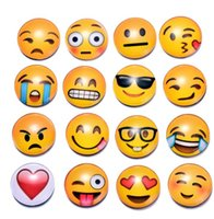 nevera de diseño al por mayor-Imán de nevera Emoji Trolls Poppy PVC 25 MM Imán Decoración para el hogar Pegatinas magnéticas Imanes de refrigerador 32 diseño KKA2096