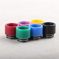 Wholesale Alien Tank - TFV8 Resin Drip Tip Colorful Wide Bore drip tips for Adjustable Airflow TFV8 TFV12 Big Baby Sub Ohm Tank Alien Kits