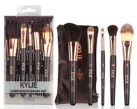 Wholesale High Bb - 2017 kylie 5pcs Makeup Brushes Sets kit High Quality Professional Cosmetic Foundation BB Cream Powder Blush Eyeshadow Brush Make Up Tools