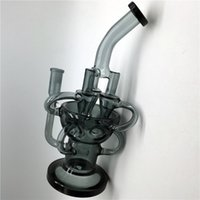 Wholesale oil rig egg recycling resale online - Ash Catcher for Glass Bong Gray cm Height Weight g mm Female Joint High Quality Recycle Dab Oil Rigs Water Pipes Egg