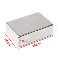 Wholesale Neodymium Magnets N52 Block - N52 30x20x10mm Neodymium Block Magnet