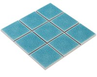 Wholesale Parquet Tiles Flooring - Glossy mosaic flooring tiles,popular ice crack ceramic swimming pool tiles Bathroom Kitchen wall tiles,two mixed-colors optional,LSBL9801 02