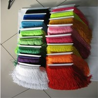 Wholesale Zakka 12 - 1 lot of fringes trims pure polyester 11 12 inches 10 meters lot lace accessories zakka patchwork DIY