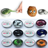 Wholesale New Novelty Decompression Toys Magnetic Putty Hand Mud Handgum Rubber Toys non toxic Smart Intelligence Gat Children Adult Toys HH T03
