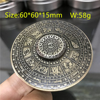 Wholesale figit toys resale online - 50pcs Egypt Constellation Ancient Fidget Spinner Metal EDC Cool Stress Toy Hand Spiner Handspinner Finger Figit Figet Spinner