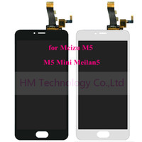 """Wholesale Touch Screen Replacing Tools - Wholesale- 5.2"""" LCD+TP for Meizu M5 , M5 Mini ,Meilan5 LCD Display+Touch Screen Digitizer Panel Assembly Replace Part Free Shipping+Tools"""