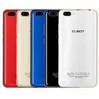 Wholesale Rainbow French - Cubot Rainbow 2 Quad Core Smartphone Android 7.0 MT6580A Unlocked Phones 1GB RAM 16GB ROM 13.0MP OTG Cellphone 2350mAh Battery
