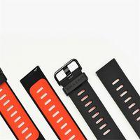 Wholesale Silica Gel Watches - Wholesale- Original Huami Xiaomi Amazfit Silicone Strap Replacement Silicone Wristband For Amazfit Smart Watch Silica Gel Bracelet Band