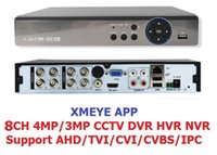 Wholesale Xmeye app IN1 CH MP AHD DVR NVR XVR CCTV P MP MP Hybrid Security DVR Recorder Camera Onvif RS485 Coxial Control P2P Cloud