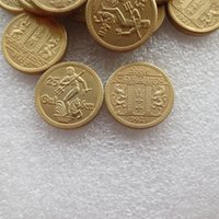 Wholesale Antiques Poland - Wholesale POLAND Danzig 1923 25 gulden Gold plated Copy Coin Free Shipping