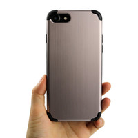 Wholesale Drawing Pattern Case - New Pattern Brush Drawing Grain Case Material Cell Phone TPU Cases Protector For iPhone 6 6S 7 7Plus Shockproof Cases Phone Back Cover