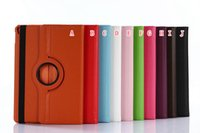 Wholesale red inch tablet bundle for sale - 360 Degree Rotating Rotary PU Wallet Leather Litchi Case Stand Pouch For New Ipad Pro Inch Tablet Holder Skin Cover Colorful