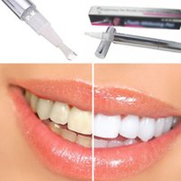Wholesale Bleaching Pen For Teeth - New White Teeth Whitening Pen Tooth Gel Whitener Bleach Remove Stains oral hygiene 3 colors for choose HOT SALE
