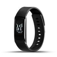 i6 smart wristband оптовых-fitbit оригинальный IWOWN I6 PRO смарт-браслет монитор сердечного ритма IP67 водонепроницаемый смарт-браслет Фитнес-трекер поддержка Andriod IOS